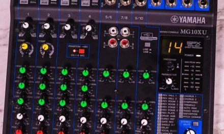Yamaha MG10XU | Best Mid-Level USB Mixer?